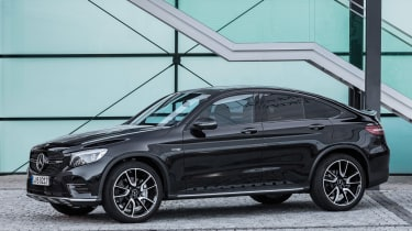 Mercedes-AMG GLC 43 Coupe - front quarter