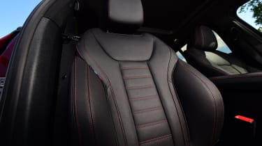 BMW X4 - front seat