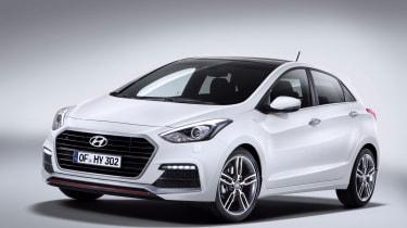Hyundai i30 Turbo 2015 - front