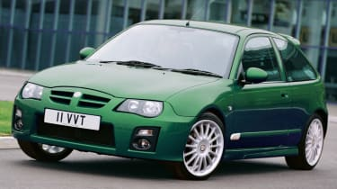 British classics - MG ZR