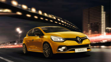 Renault Clio RS - front action