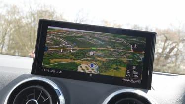 Audi Q2 35 TFSI long-termer - sat-nav