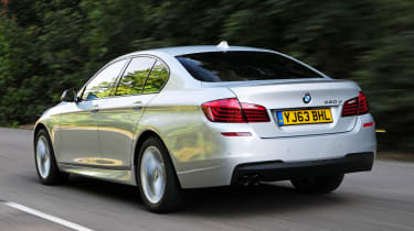 BMW 520d rear action