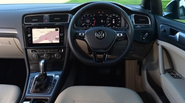 vw golf interior