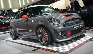 MINI JCW GP II front action