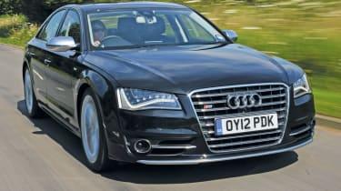 Audi S8 front