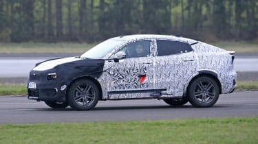Lynk & Co Coupe-SUV spied  - front tracking