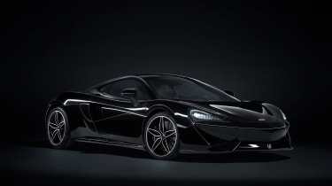 McLaren 570GT MSO Black Collection Front