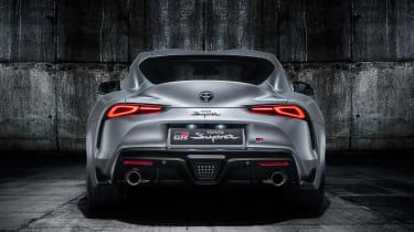 Toyota Supra - grey full rear