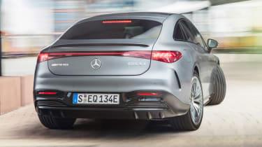 Mercedes-AMG EQS 53 - rear cornering