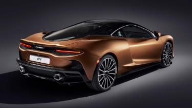 McLaren GT - rear studio