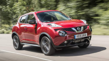 Nissan Juke - Front Tracking