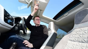 Volkswagen up! - long termer second report sunroof