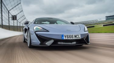 McLaren 570S Track Pack - front action