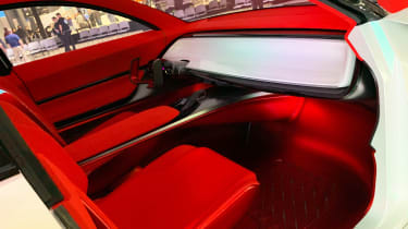 Kia Habaniro concept - New York interior