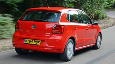 VW Polo - rear tracking