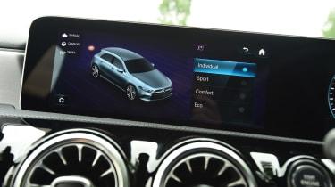 Mercedes A-Class - drive mode