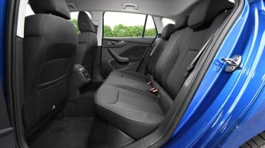 Skoda Scala - rear seats