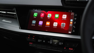 Audi A3 40 TFSI e PHEV - infotainment