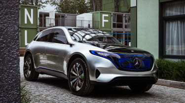 Mercedes EQ Concept - front tracking
