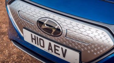 Hyundai Ioniq hybrid electric grille
