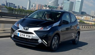 Toyota Aygo 2014 front tracking