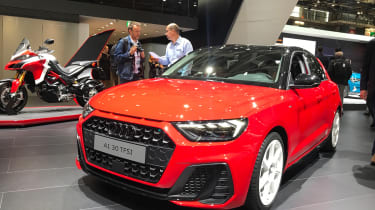 New Audi A1 Paris