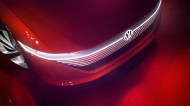 Volkswagen I.D Vizzion - studio grille