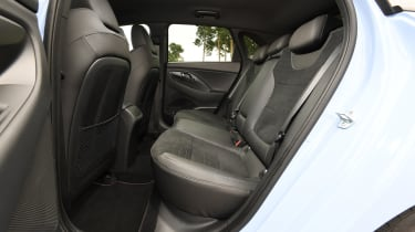 Hyundai i30 N - rear seats