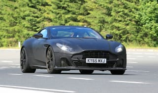 Aston Martin DB11 S spies front
