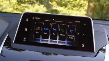 Mitsubishi Eclipse Cross - infotainment screen