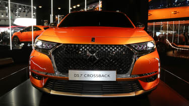 DS 7 Crossback Geneva show - full front