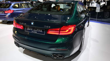 Frankfurt - BMW Alpina D5 S - rear