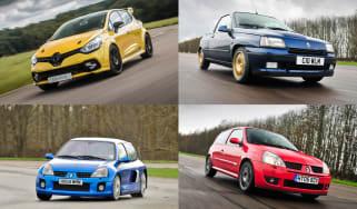 History of Renaultsport Clio - header