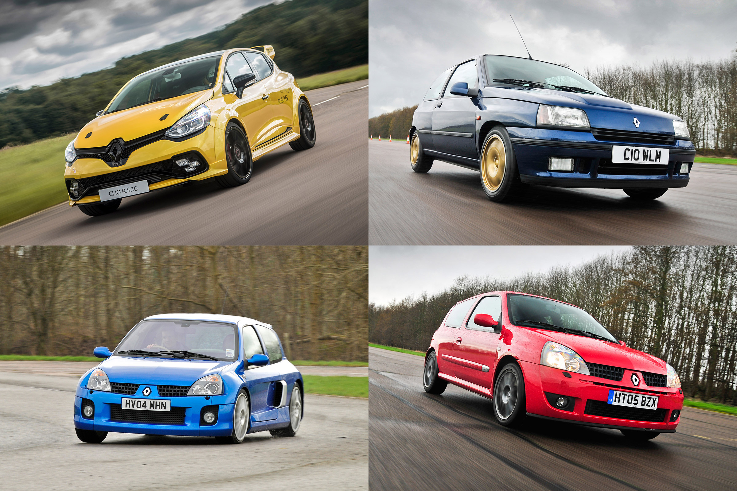 History Of The Renaultsport Clio Auto Express