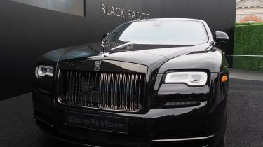 Rolls-Royce Dawn Black Badge - Goodwood full front