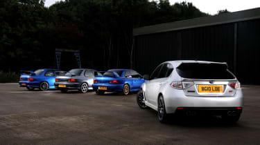 Subaru Impreza Cosworth group