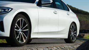BMW 320d - side profile