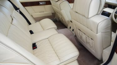 Aston Martin Lagonda - rear seats