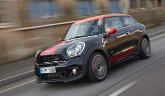 MINI JCW Paceman front tracking