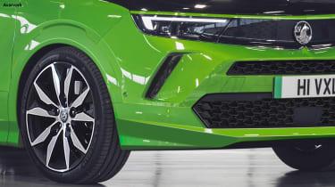 Vauxhall Mokka VXR - front detail (watermarked)