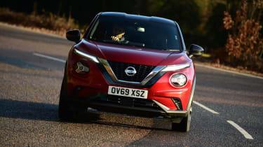 Nissan Juke - cornering front