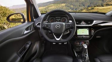 Vauxhall Corsa GSi - dash