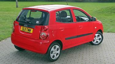 Used Kia Picanto - rear