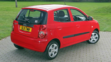 Used Kia Picanto - rear