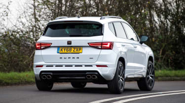 Cupra Ateca - rear cornering