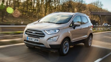 Ford EcoSport - front action