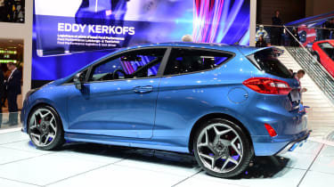 Ford Fiesta ST Geneva show - rear