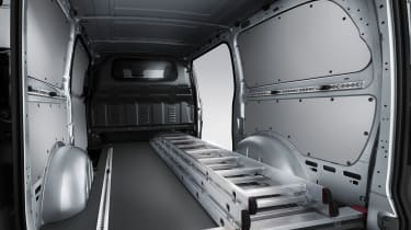Mercedes Vito van 2015 - load bay