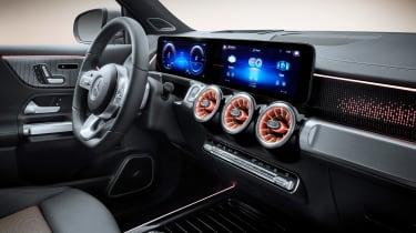 Mercedes EQB - cabin